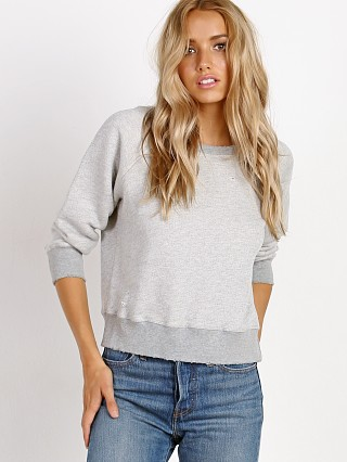 n: PHILANTHROPY Gayla-Shrunken Sweatshirt Heather Grey