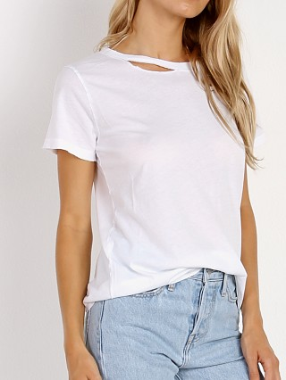 n: PHILANTHROPY Harlow-Distressed Bff Tee White
