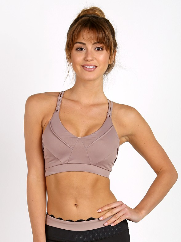 Track & Bliss The Triangle Sports Bra Nude