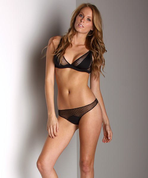 Cosabella Maxine Low Rise Thong Black