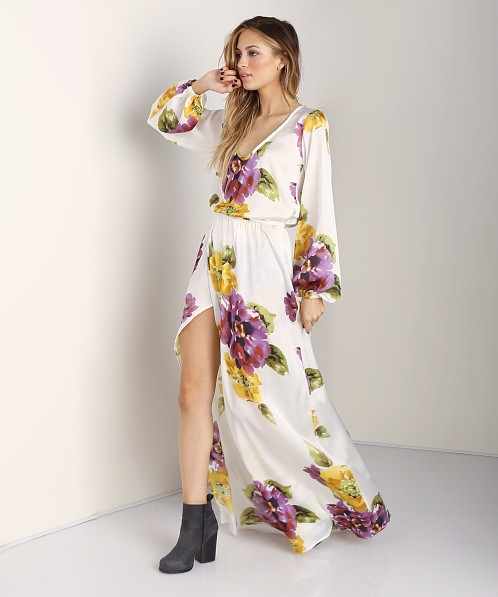 Show Me Your Mumu Jocelyn Maxi Floating Floral