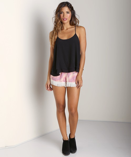 Show Me Your Mumu Spike Tank Black