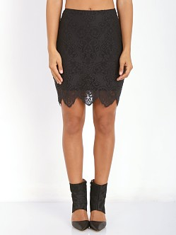 For Love & Lemons Midnight Mini Skirt Black
