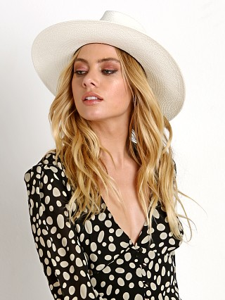 You may also like: Janessa Leone Aisley Short Brim Fedora Hat Bleach