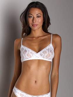 Only Hearts Stretch Lace Bralette White
