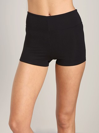 Indah Fizz Zipper Shorts Black