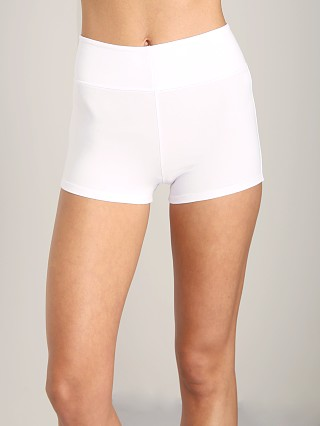 Complete the look: Indah Fizz Zipper Shorts White