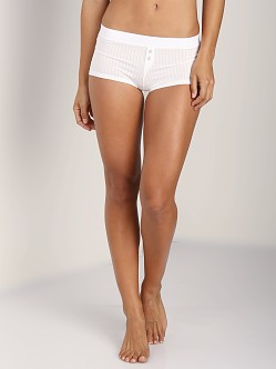 Splendid Rib Boyshort Bright White