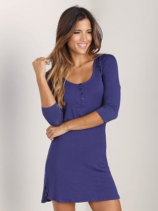 Complete the look: Splendid Rib Henley Chemise Navy
