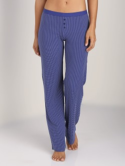Splendid Summer Pant Navy Pin Dot