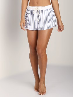 Splendid Summer Fling Short Navy Rope Stripe