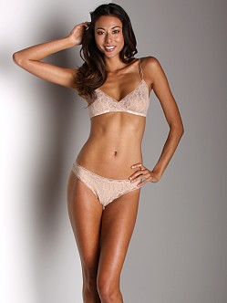Only Hearts Stretch Lace Bralette Nude