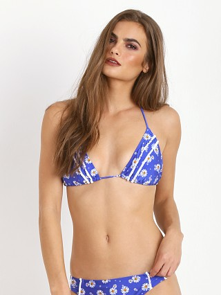 MinkPink Hippy Daisy Triangle Bikini Top