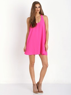 MinkPink Ocean Dream Dress Hot Pink