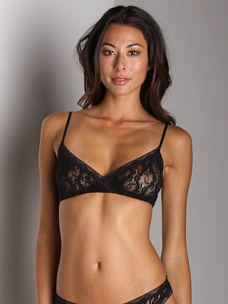 Only Hearts Stretch Lace Bralette Black
