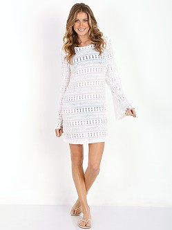 MinkPink Monte Carlo Dress Off White