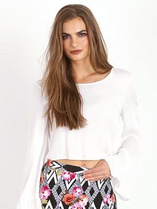MinkPink House of Prairie Top White