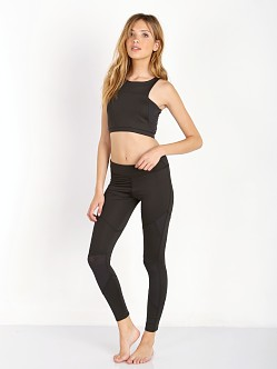 SOLOW Geometric Cutout Legging Black