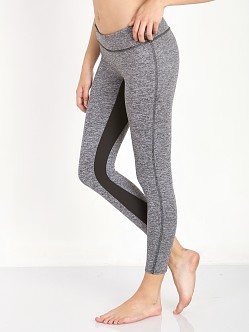 SOLOW Space Dye Legging with Contrast Inseam Grey/Black