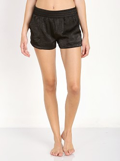 SOLOW Crinkle Short Black
