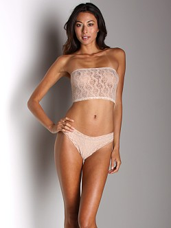 Only Hearts Stretch Lace Thong Nude