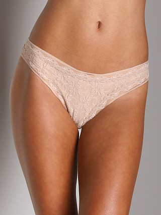 Complete the look: Only Hearts Stretch Lace Thong Nude