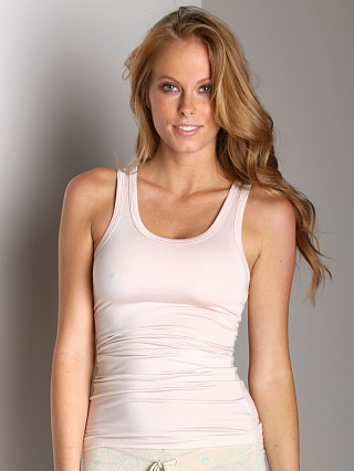 Wendy Glez Long Tank With Shelf-Bra Blush