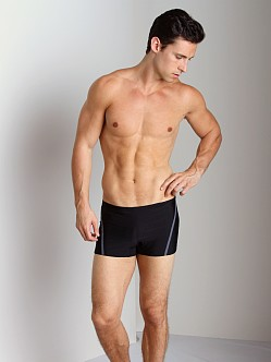 Speedo Fitness Compression Square Leg Black