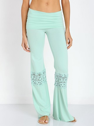 Nightcap Crochet Beach Pant Mint
