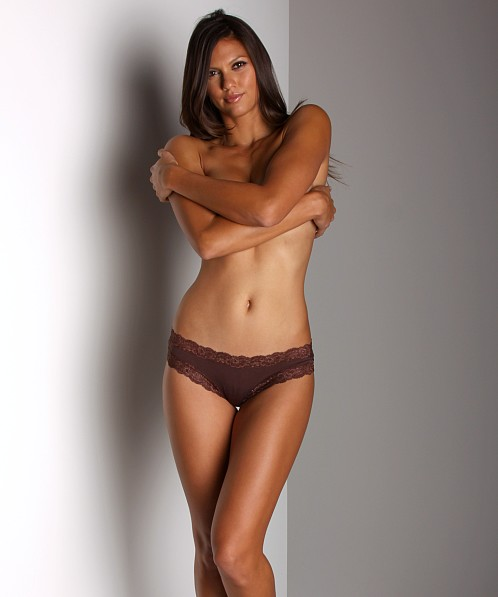 Fleur't Low Rise Thong Chocolate