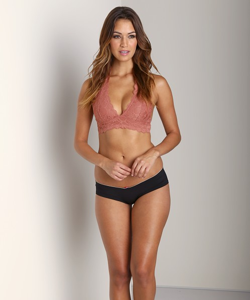 5f0a45832f30f Free People Galloon Halter Bra Copper F7630915 - Free Shipping at Largo  Drive