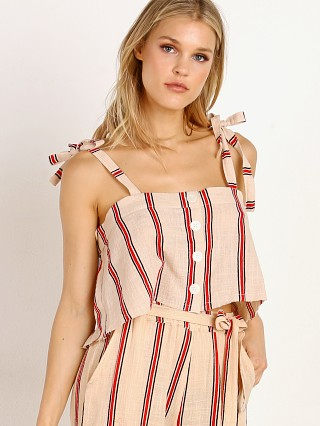 Rue Stiic Pier Top Sand Red Stripe