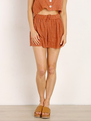 Rue Stiic Kennedy Short Burnt Stripe