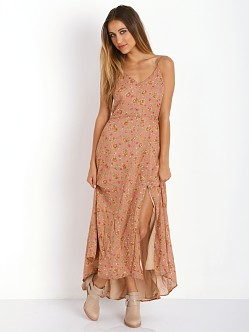Line & Dot Reality Bites Maxi Dress