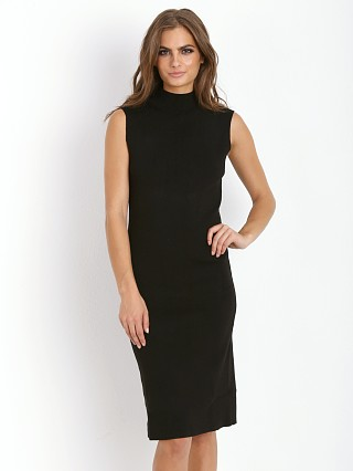 Line & Dot Cher Knit Skimmer Dress Black