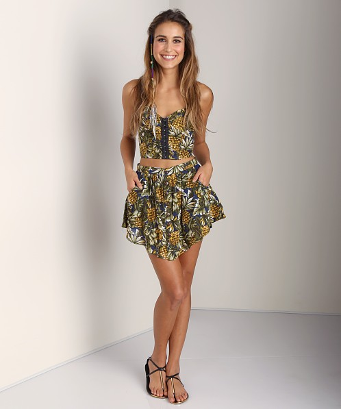 Tallow Pineapples Bustier Pineapple