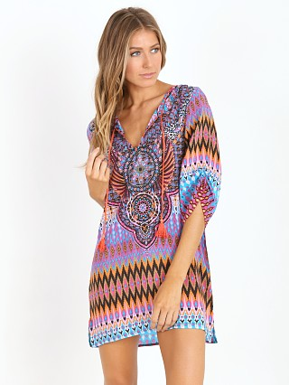 Tolani Murphy Tunic Dress Fuschia