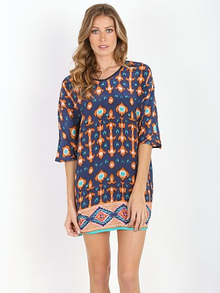 Complete the look: Tolani Kristy Tunic Navy