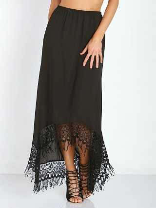 Show Me Your Mumu Tulum Skirt Black Crisp