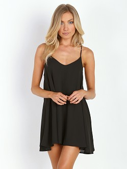 Show Me Your Mumu Circus Mini Dress Black Crisp