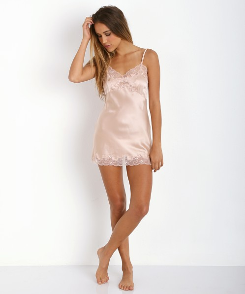 Only Hearts Silk Charmeuse Slip Blush