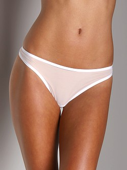 Only Hearts Whisper Thong W/Lace White