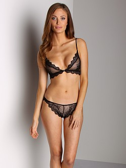 Only Hearts So Fine Lace Bralette Black