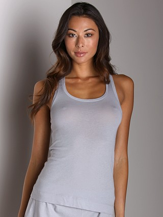 Only Hearts Organic Cotton Racer Back Tank Pebble