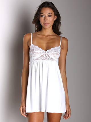 Only Hearts So Fine W/Lace Babydoll White