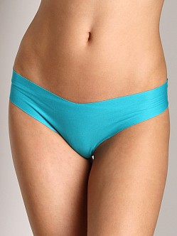 Commando Cotton Thong Lake Blue