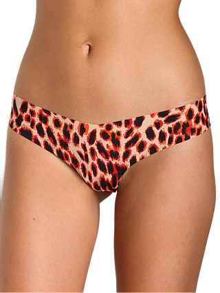 Commando Thong Leopard Flame