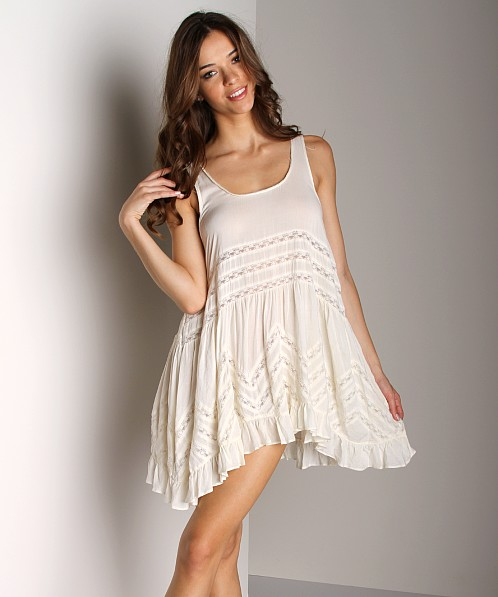 Free People Voile Trapeze Slip Tea