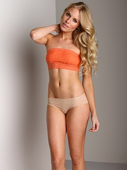 Free People Lace Bandeau Mango