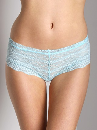 Model in aqua Fleur't Lolita Lace Boy Short